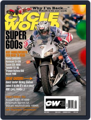 Cycle World (Digital) March 22nd, 2005 Issue Cover