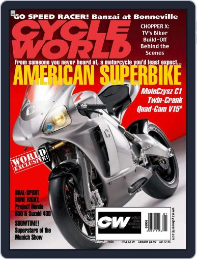 Cycle World (Digital) February 28th, 2005 Issue Cover