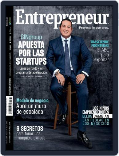 Entrepreneur En Español March 1st, 2019 Digital Back Issue Cover