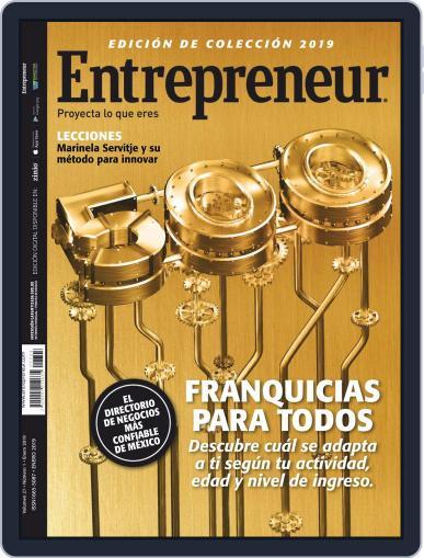 Entrepreneur En Español (Digital) January 1st, 2019 Issue Cover