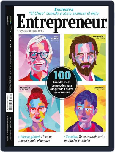 Entrepreneur En Español (Digital) December 1st, 2018 Issue Cover