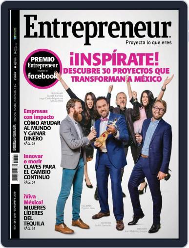 Entrepreneur En Español (Digital) September 1st, 2018 Issue Cover