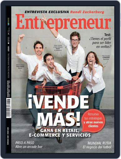 Entrepreneur En Español (Digital) July 1st, 2018 Issue Cover