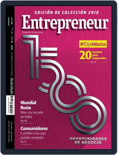 Entrepreneur En Español June 1st, 2018 Digital Back Issue Cover