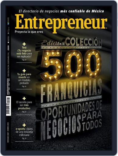 Entrepreneur En Español January 1st, 2018 Digital Back Issue Cover