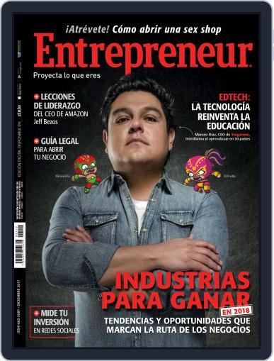 Entrepreneur En Español December 1st, 2017 Digital Back Issue Cover