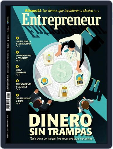 Entrepreneur En Español (Digital) November 1st, 2017 Issue Cover