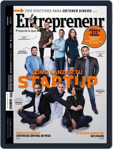 Entrepreneur En Español (Digital) February 1st, 2017 Issue Cover