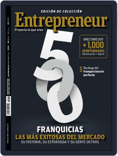 Entrepreneur En Español January 1st, 2017 Digital Back Issue Cover