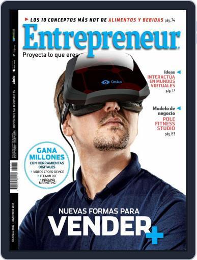 Entrepreneur En Español (Digital) November 1st, 2016 Issue Cover