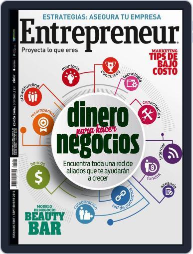 Entrepreneur En Español (Digital) September 1st, 2016 Issue Cover