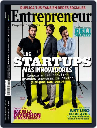 Entrepreneur En Español (Digital) July 1st, 2016 Issue Cover