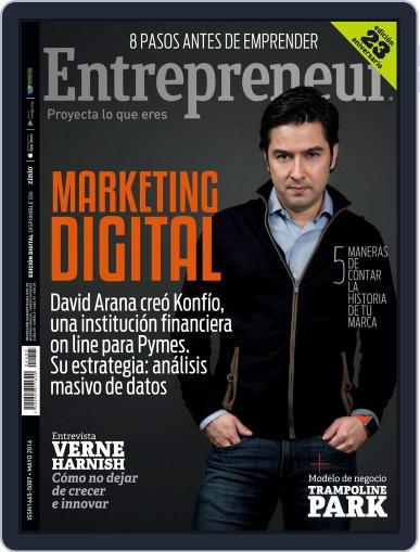 Entrepreneur En Español May 1st, 2016 Digital Back Issue Cover