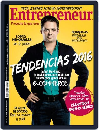 Entrepreneur En Español (Digital) December 1st, 2015 Issue Cover