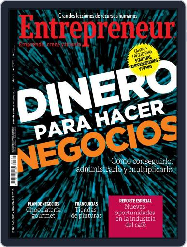 Entrepreneur En Español (Digital) November 1st, 2015 Issue Cover