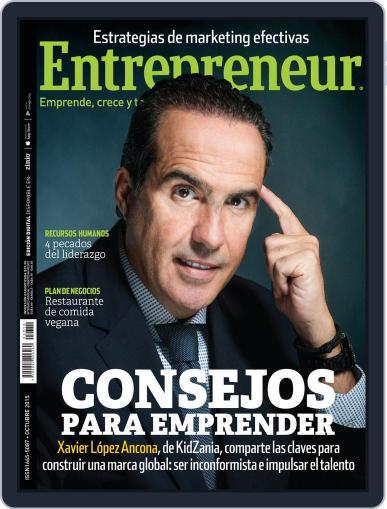 Entrepreneur En Español (Digital) October 1st, 2015 Issue Cover