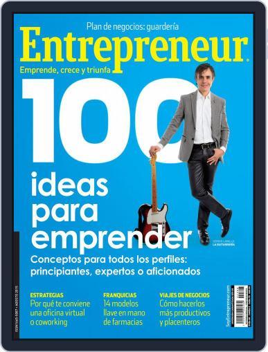 Entrepreneur En Español (Digital) August 1st, 2015 Issue Cover