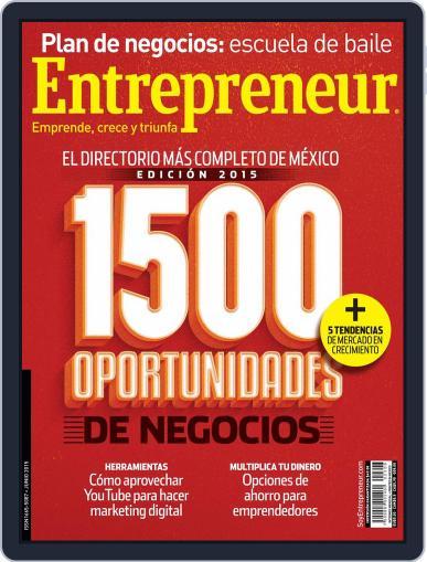 Entrepreneur En Español (Digital) June 2nd, 2015 Issue Cover