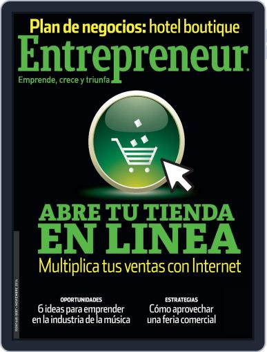 Entrepreneur En Español (Digital) November 3rd, 2014 Issue Cover