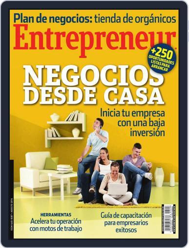Entrepreneur En Español (Digital) August 1st, 2014 Issue Cover