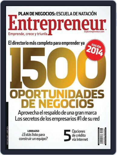 Entrepreneur En Español (Digital) June 2nd, 2014 Issue Cover