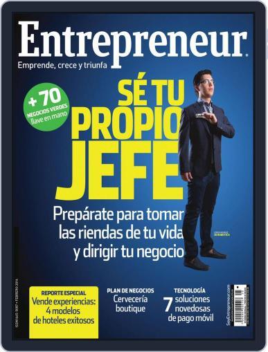 Entrepreneur En Español (Digital) February 3rd, 2014 Issue Cover