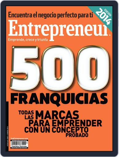 Entrepreneur En Español (Digital) January 1st, 2014 Issue Cover