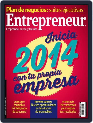 Entrepreneur En Español (Digital) December 1st, 2013 Issue Cover