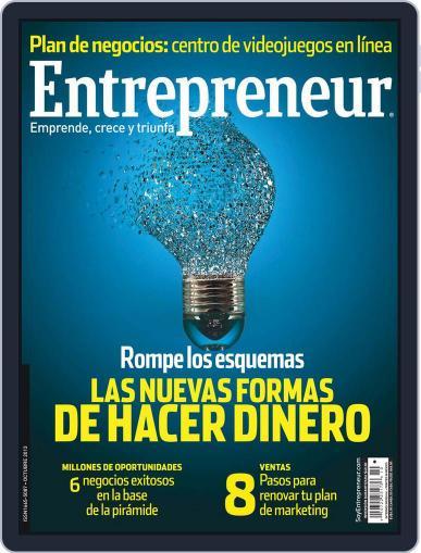 Entrepreneur En Español October 4th, 2013 Digital Back Issue Cover