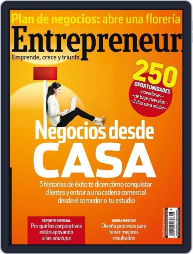 Entrepreneur En Español (Digital) August 1st, 2013 Issue Cover