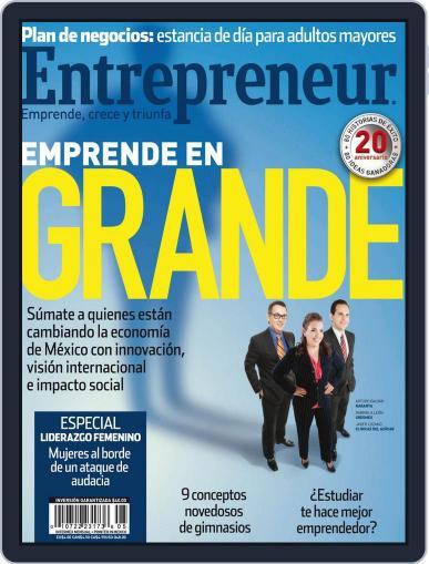 Entrepreneur En Español (Digital) May 2nd, 2013 Issue Cover