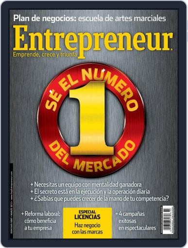 Entrepreneur En Español March 1st, 2013 Digital Back Issue Cover