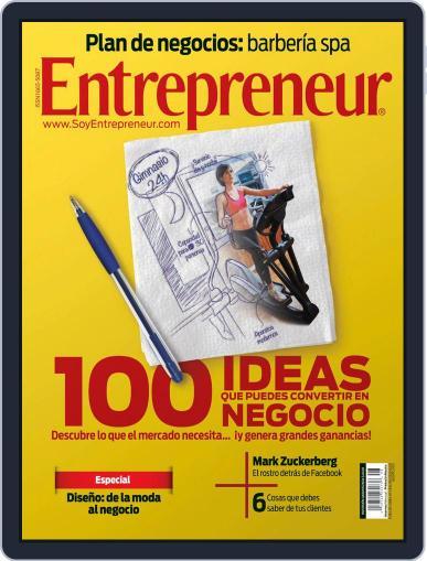 Entrepreneur En Español (Digital) August 7th, 2012 Issue Cover