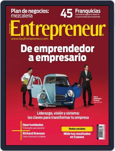 Entrepreneur En Español (Digital) August 6th, 2012 Issue Cover