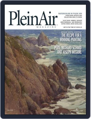 Pleinair (Digital) June 1st, 2020 Issue Cover