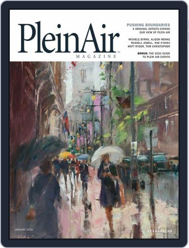 Pleinair (Digital) December 1st, 2019 Issue Cover
