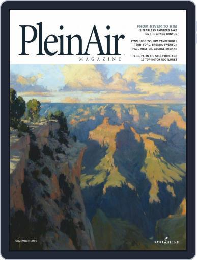 Pleinair (Digital) October 1st, 2019 Issue Cover
