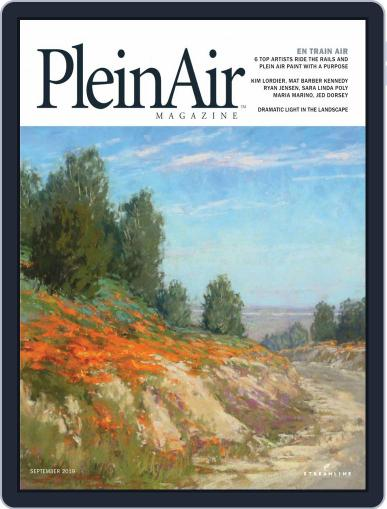 Pleinair (Digital) August 1st, 2019 Issue Cover