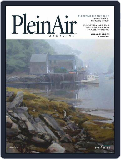 Pleinair (Digital) July 1st, 2019 Issue Cover