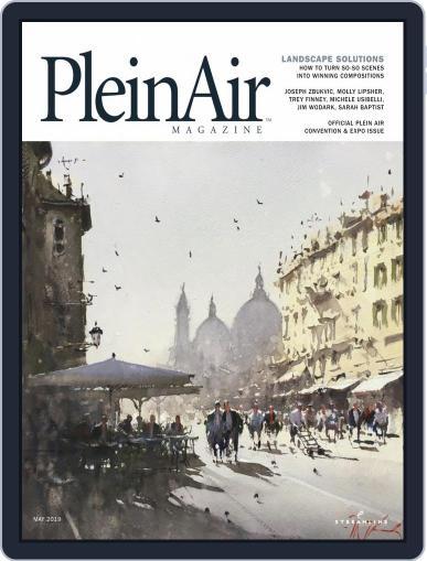 Pleinair (Digital) April 1st, 2019 Issue Cover