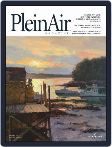 Pleinair (Digital) January 1st, 2019 Issue Cover