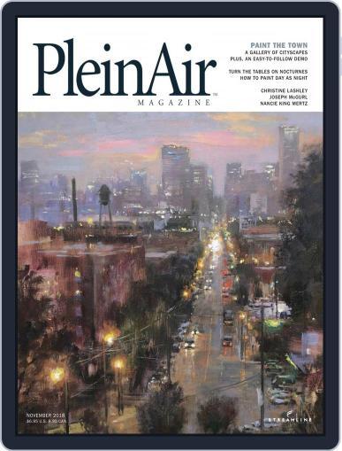 Pleinair (Digital) October 1st, 2018 Issue Cover