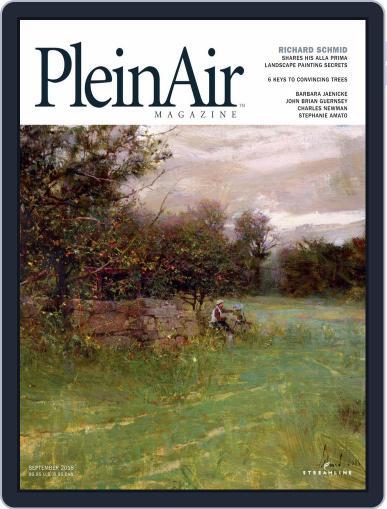 Pleinair (Digital) August 1st, 2018 Issue Cover