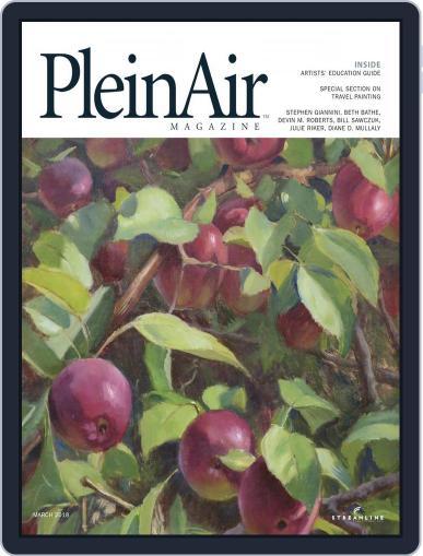 Pleinair February 1st, 2018 Digital Back Issue Cover