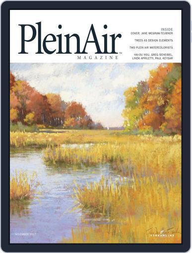 Pleinair (Digital) October 1st, 2017 Issue Cover