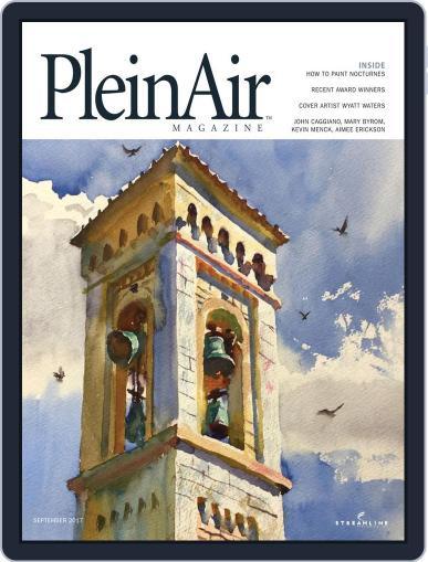 Pleinair (Digital) August 1st, 2017 Issue Cover