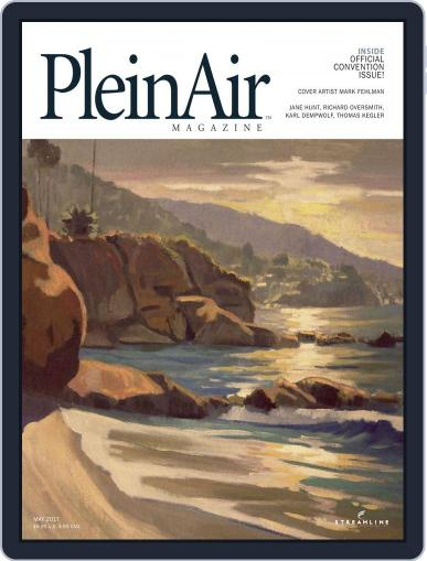 Pleinair (Digital) April 1st, 2017 Issue Cover