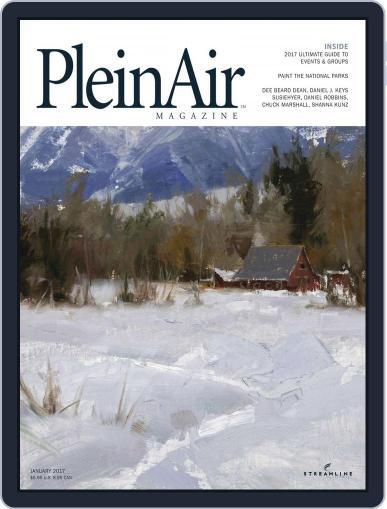 Pleinair December 1st, 2016 Digital Back Issue Cover