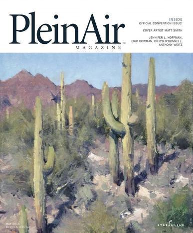 Pleinair (Digital) April 1st, 2016 Issue Cover