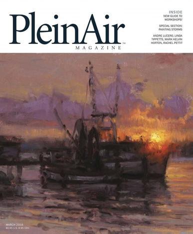Pleinair February 4th, 2016 Digital Back Issue Cover